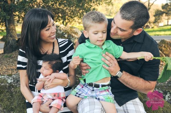 napa california family portraits